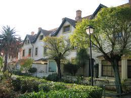 Imagen del Barrio de Bella Vista, en Minas de Riotinto.