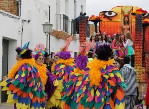 Desfile de Carnaval en Bollullos del Condado.