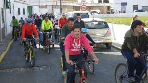 En el marco de las fiestas se ha celebrado el Día de la Bicicleta.