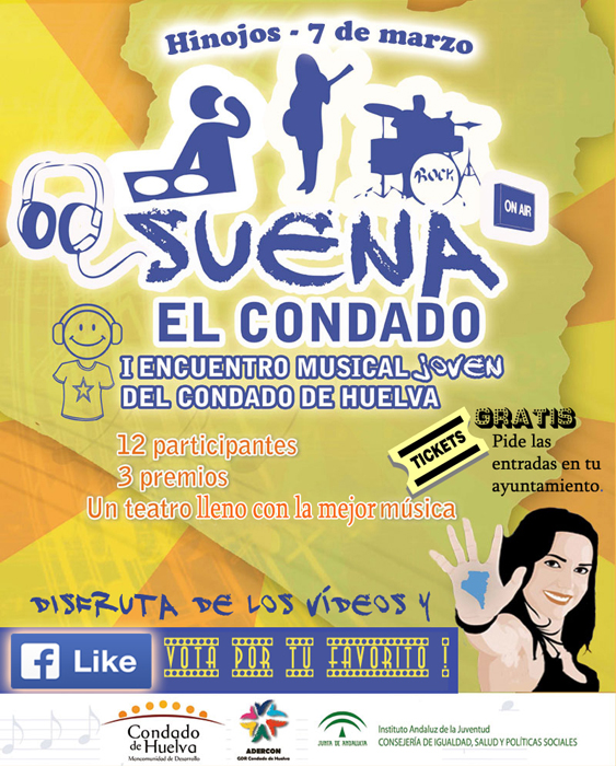 Cartel del encuentro musical 'Suena El Condado'.