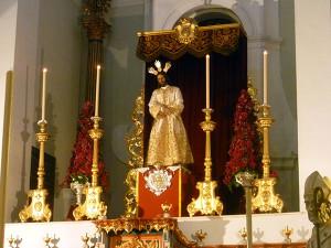 Nuestro Padre Jesús de la Humildad en la Catedral