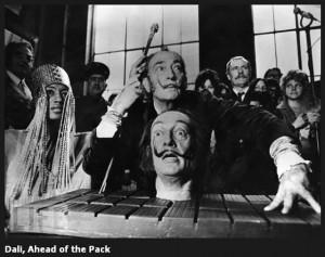 """""""La única diferencia entre un loco y yo, es que yo no estoy loco """", cita de Dalí."""