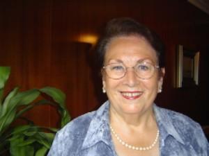 Isabel Arcos, presidenta de la FOE antes de Antonio Ponce, es una de las mujeres pioneras de Huelva.