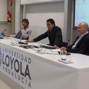 Jesús Quintero, Roberto Arrocha y Ramón Fernández Beviá.