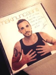 Portada del nuevo disco de Maki.