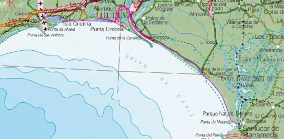 Comienza la aventura de los dos onubenses que quieren cruzar corriendo la costa de Huelva en menos de 24 horas