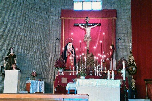 Altar del Quinario al Cristo del Perdón