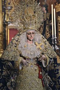María Santísima de la Victoria / Foto: Valentín López