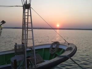 Huelva cuenta con bellas puestas de sol.