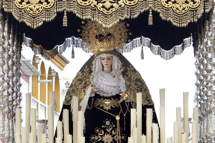 La Virgen de la Soledad.