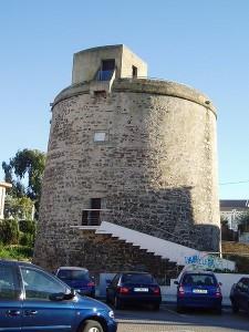 Torre Umbría, en Punta Umbría, aparece en el escudo de la localidad.