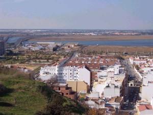 Imagen de Huelva desde El Conquero.