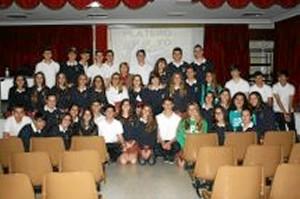 Foto de familia de la conferencia de Rosario Paniagua.