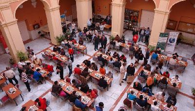 El VII Abierto de Ajedrez reúne este sábado en el campus de La Merced a más de 100 jugadores