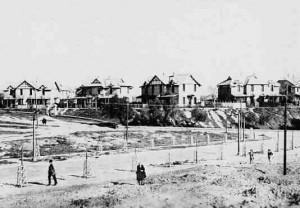 Foto Barrio Obrero principios del siglo XX. FOTO: huelvaenelrecuerdo.blogspot.com