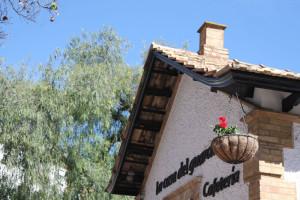 La Casa del Guarda, hoy cafetería.