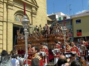 Huelva se prepara para vivir el Domingo de Ramos 2015.