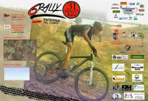 Cartel de la prueba, segunda del Circuito Provincial de Rallys.