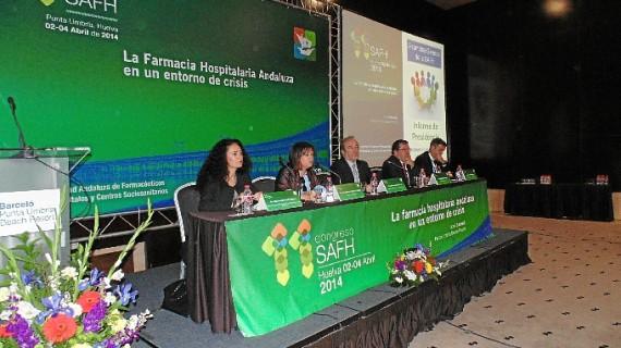 Unos 150 profesionales se dan cita en el Congreso de la Sociedad Andaluza de Farmacéuticos de Hospitales que se celebra en Punta Umbría
