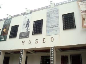 La presentación del libro fue en el Museo Provincial de Huelva.