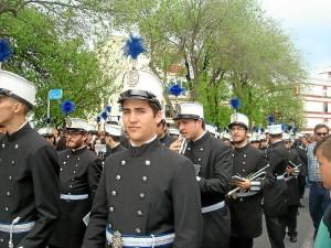 La Agrupación Musical de la Santa Cruz volvió a acompañar un año más al Perdón.