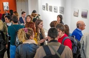 La exposición ha sido organizada por la Escuela de Arte León Ortega.