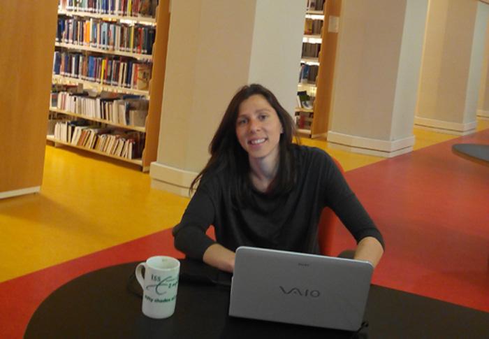 Cristina Medina, una traductora de Huelva que investiga en La Haya con una beca Talentia