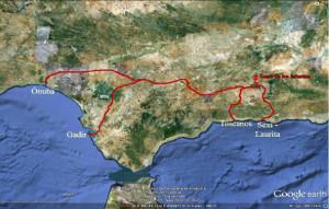 Salomón se unió a los fenicios para realizar la ruta hasta las minas onubenses.