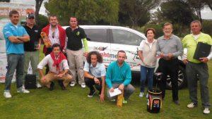 Los vencedores del evento celebrado en Bellavista.