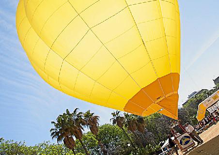 Los onubenses descubren la sensanción de volar en globo este fin de semana