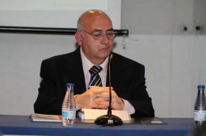 Antonio Martínez Navarro, durante la presentación. / Foto: Moíses Núñez.