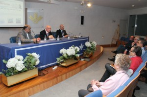 Acto de presentación de 'La Papelería Inglesa'. / Foto: Moisés Núñez.