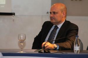 El director de HBN, Ramón Fernández Beviá, durante el acto.