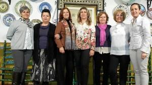 Nueva junta directiva de la Peña Femenina de Huelva.
