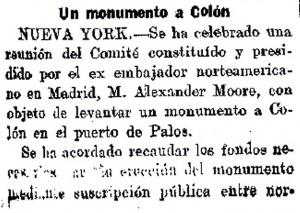 Artículo en 'El Globo'.