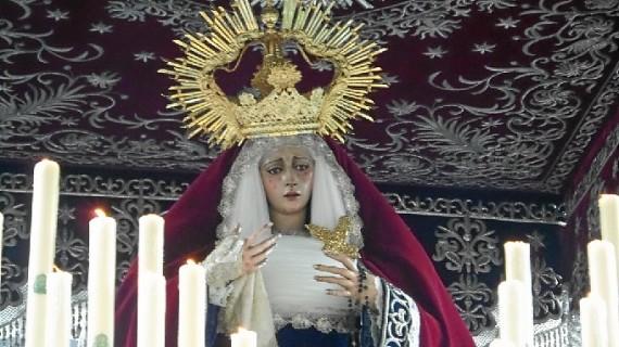 Oración en el Huerto estrena la marcha y el himno de la coronación canónica de la Virgen de los Dolores