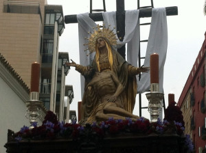 Nuestra Señora de las Angustias.