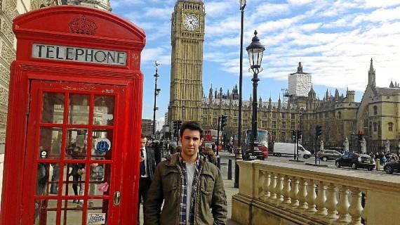 Nacho Carmona lleva su amor por Huelva hasta el corazón de Londres