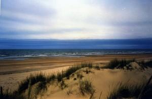 Bonita imagen de la playa de Castilla de Doñana. / Foto: eltiempo.es (F. G. Vilches):