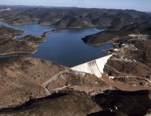 El embalse del Chanza es uno de los de mayor capacidad de la provincia./FOTO: www.panageos.es