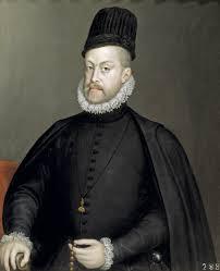 Conocida imagen de Felipe II.