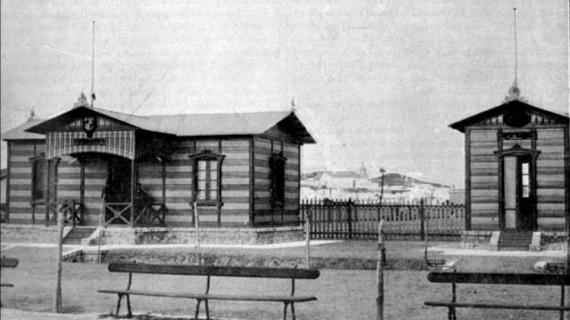 Caseta de Sanidad y Ayudantía del Puerto de Huelva en la última década del siglo XIX