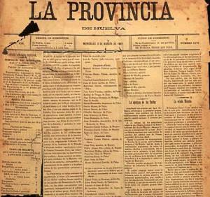 El diario 'La Provincia'.