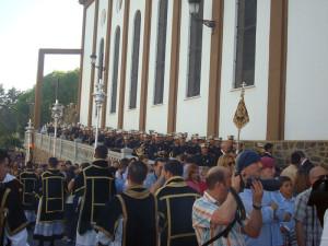 La Banda de Cornetas y Tambores de Ntro. Padre Jesús Nazareno.