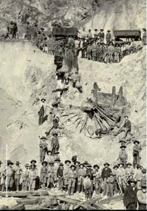 Imagen de la aparición de la rueda romana en Minas de Riotinto. / Foto: IAPH.