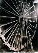 Imagen de la rueda, de 4,50 metros de diámetro. / Foto: IAPH.