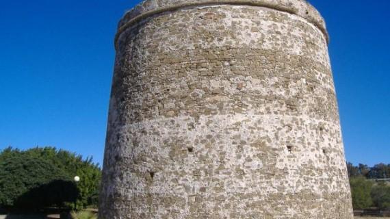 La torre de la Arenilla de Palos de la Frontera, al descubierto