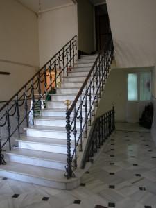 Escalera de interior del Casino. / Foto: IAPH.