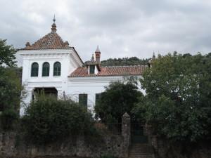 Una de las viviendas del Barrio de Aracenilla.