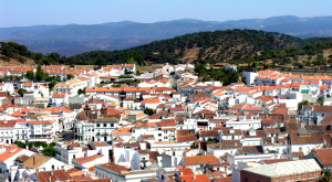 Una imagen de la localidad de Aracena.